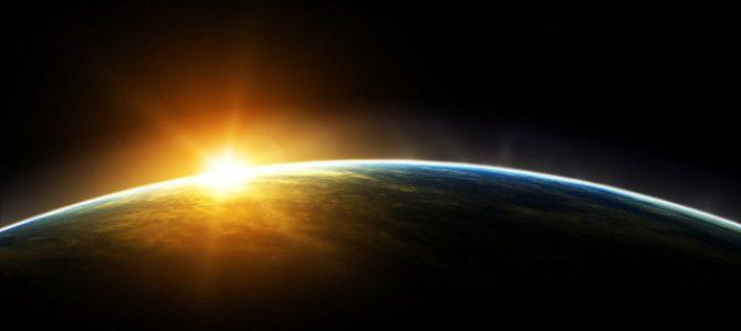 licht aarde